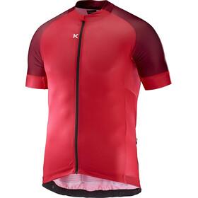 KATUSHA Icon Kortærmet cykeltrøje Herrer rød